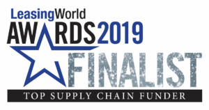 Leasing World Awards shortlist - Top Supply Chain Funder.